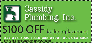 $100 off boiler replacement
